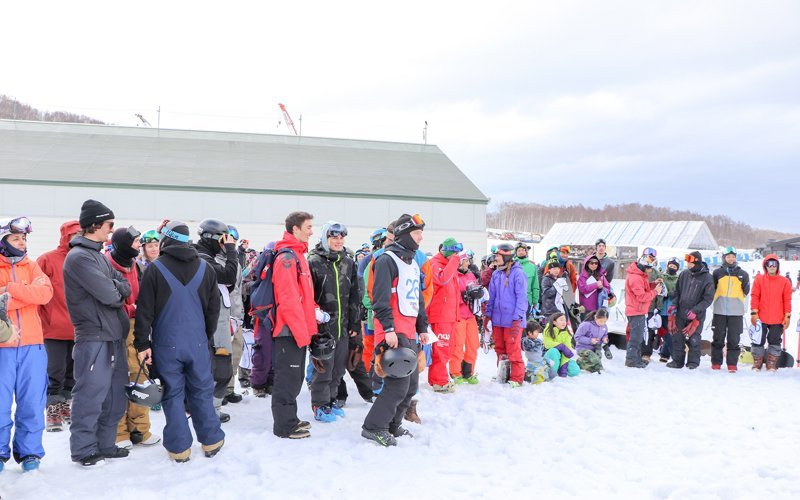 HANAZONO Banked Slalom 2018 participants and awards