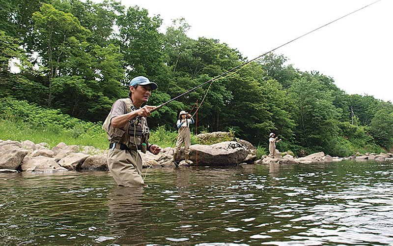 Niseko Fly Fishing Tours During Summer