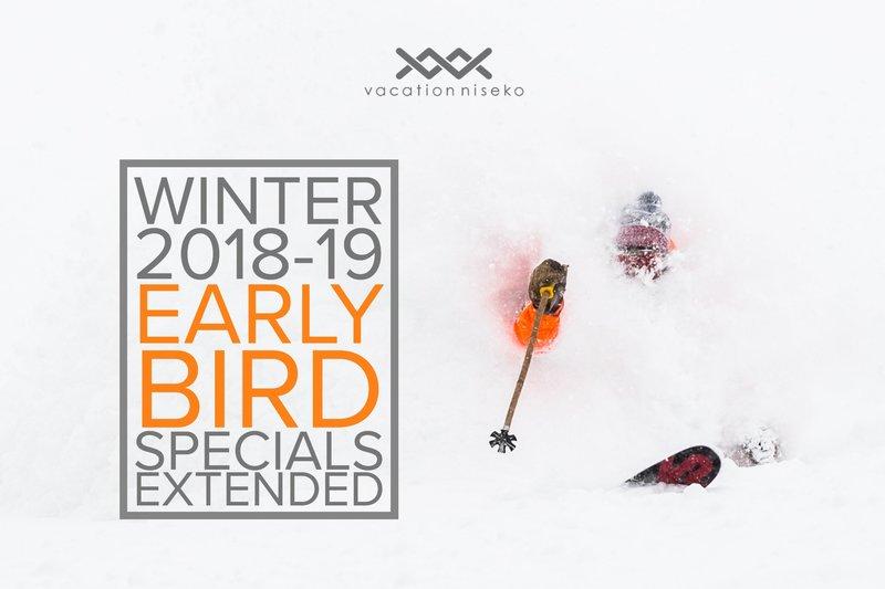 Vacation Niseko Early Bird Discount Extended