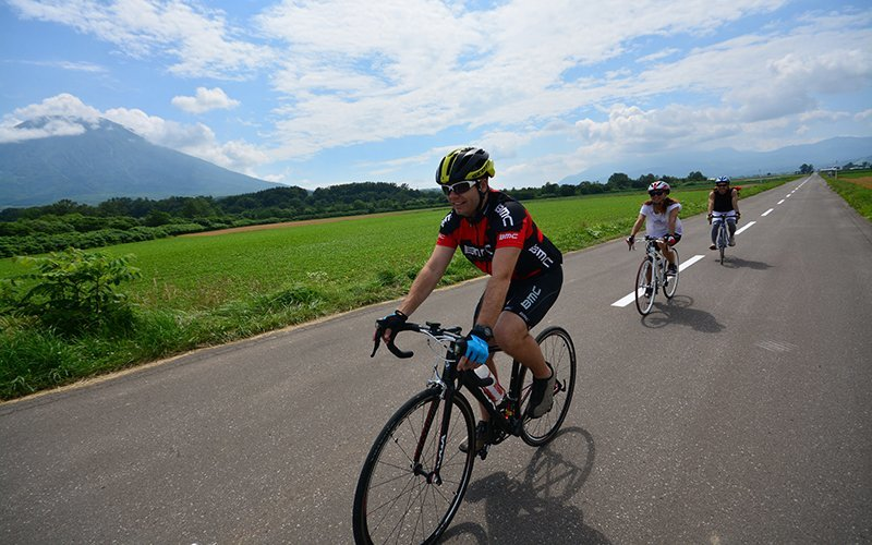 Vacation Niseko Road Bike Tours in Summer