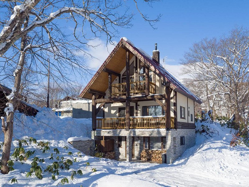 vacation niseko new property koho winter outside