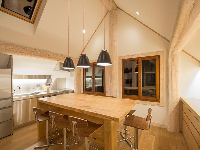 koho niseko kitchen and dining room