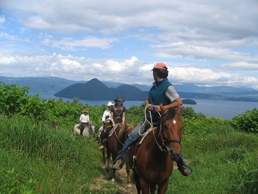vacation niseko horseback riding tours lake toya