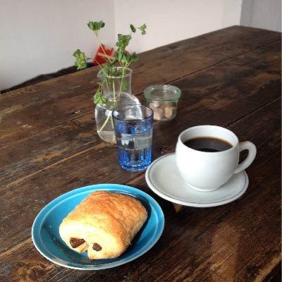 ソーケシュのパンとカフェスペース
