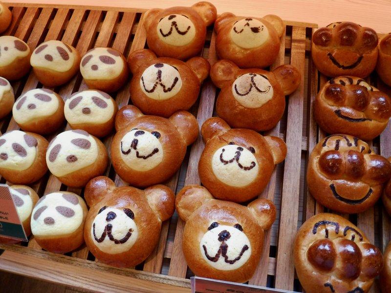 子供が喜びそうなパン