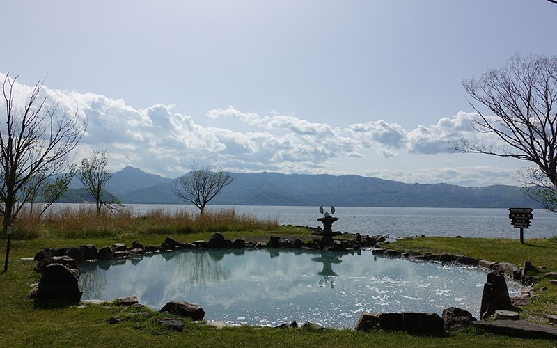 Lake Kussharo Free Onsen Hot Spring