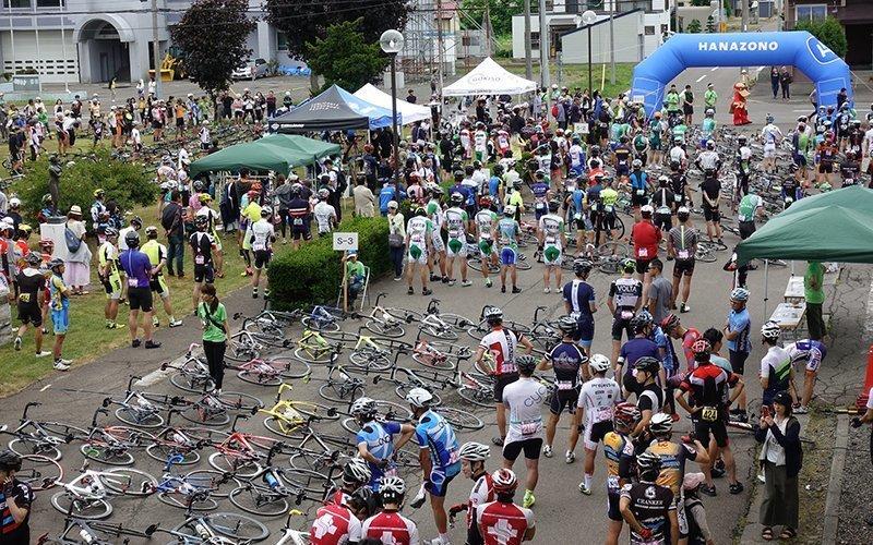 Hanazono Hill Climb 二世古單車賽事