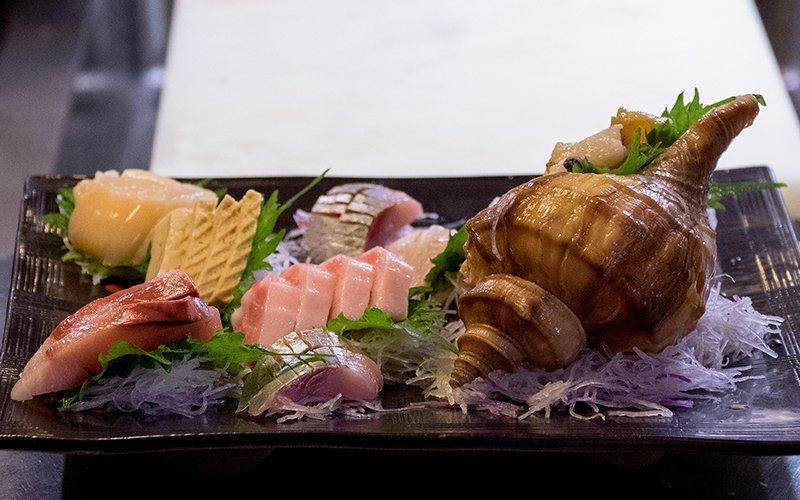 sashimi sushi bang bang niseko hirafu