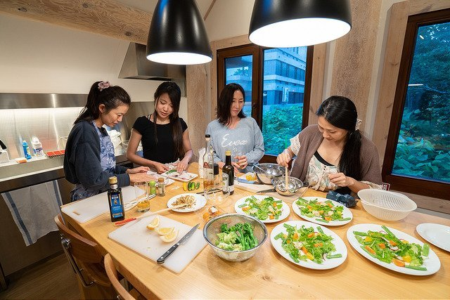 koho niseko kitchen yoga retreat