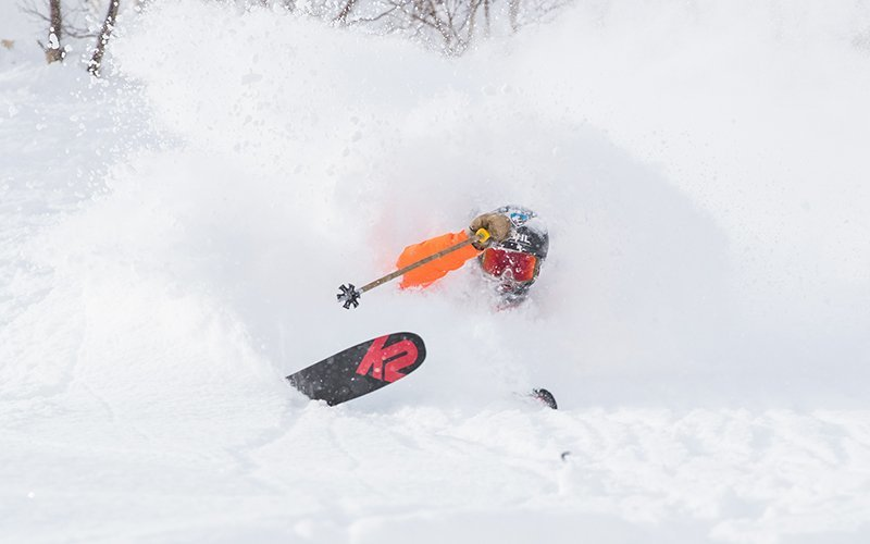 niseko united deep powder skiing
