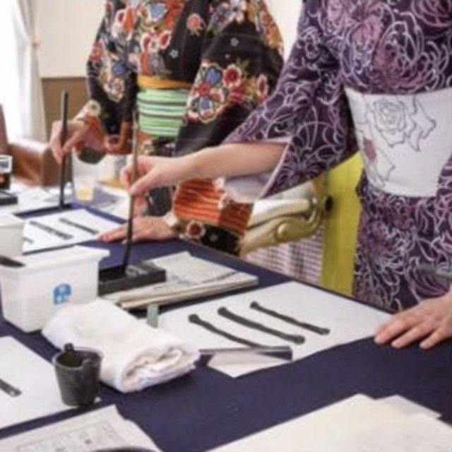 Calligraphy workshop medium