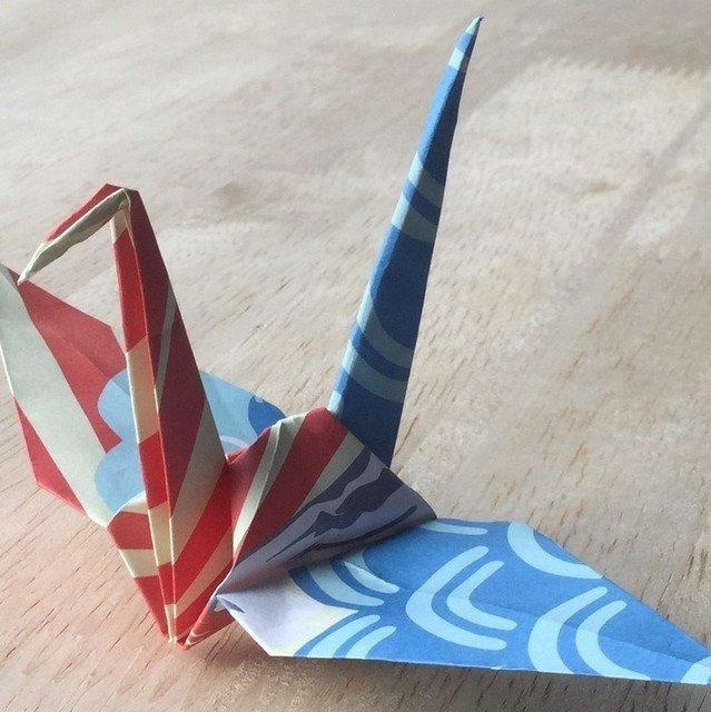 Origami workshop at niseko landmark view medium